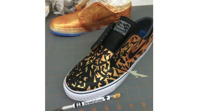 Using Leather Paints To Paint Shoes