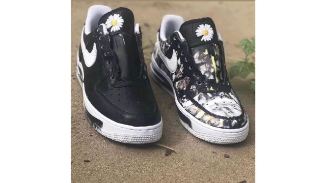 painting on nike air force 1