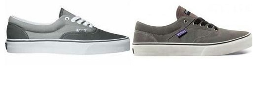 difference between etnies and vans shoes